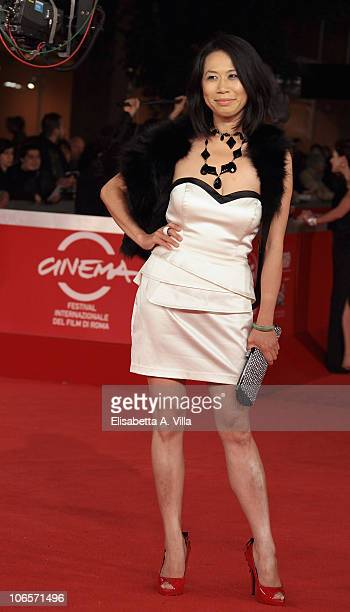 Director Yu Hsiu Camille Chen arrives at the Closing Ceremony Awards during The 5th International Rome Film Festival at Auditorium Parco Della Musica...