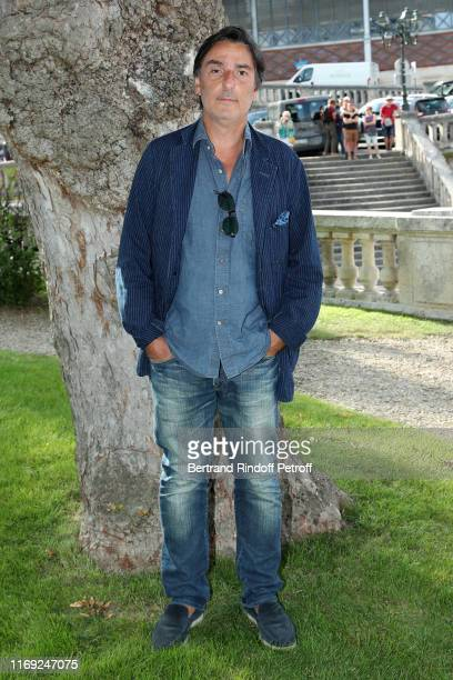 Director Yvan Attal attends the 12th Angouleme FrenchSpeaking Film Festival Day One Mon Chien Stupide photocall on August 20 2019 in Angouleme France