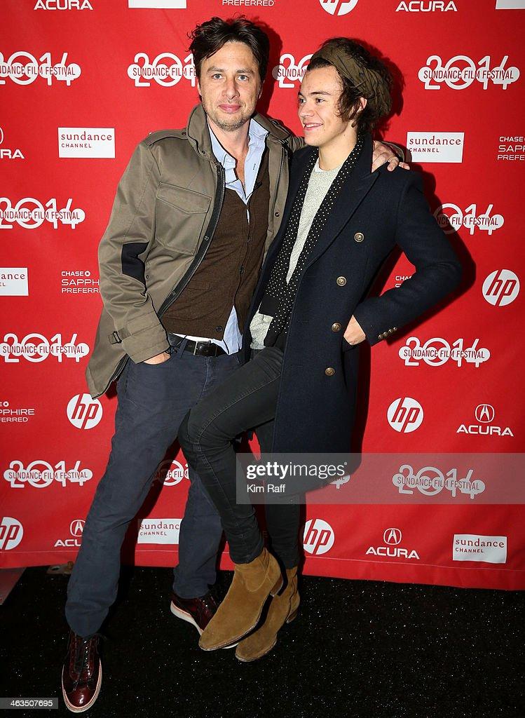 """Wish I Was Here"" Premiere - 2014 Sundance Film Festival : News Photo"