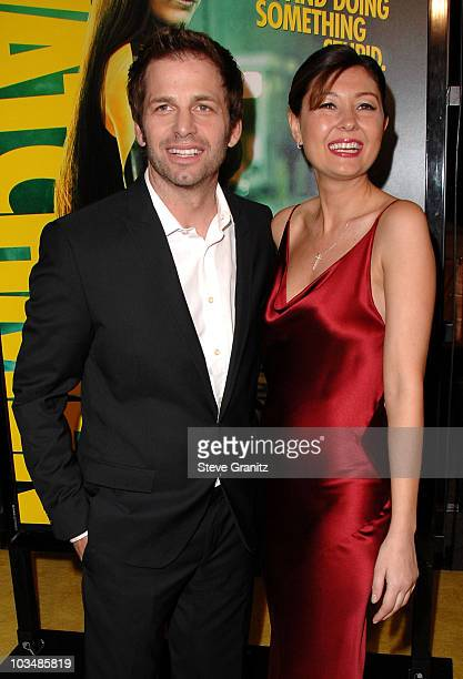 """Director Zack Snyder and producer Deborah Snyder arrive at the premiere of """"Watchmen"""" held at Grauman's Chinese Theatre on March 2, 2009 in..."""