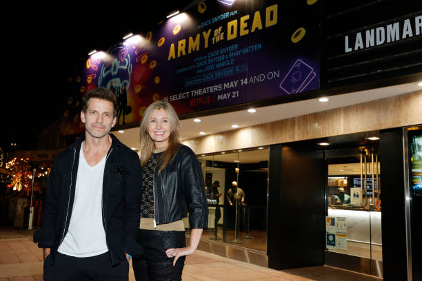 """CA: Grand Reopening Of Newly Renovated Landmark Theatre Westwood With Premiere Screening Of Zack Snyder's """"Army Of The Dead"""""""
