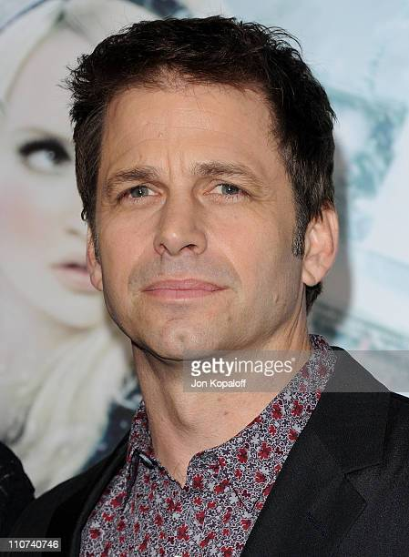 """Director Zack Snyder arrives at the Los Angeles Premiere """"Sucker Punch"""" at Grauman's Chinese Theatre on March 23, 2011 in Hollywood, California."""