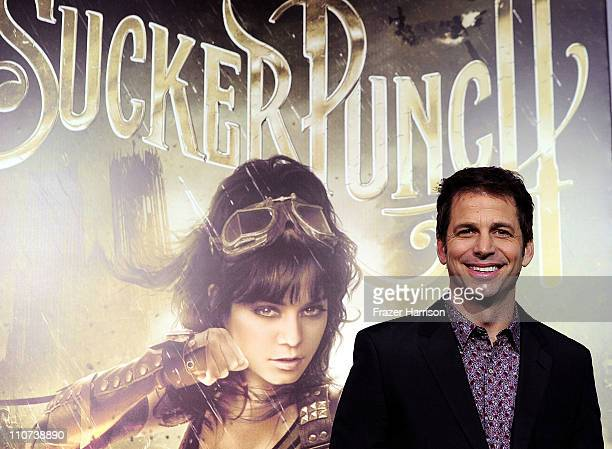 """Director Zack Snyder arrives at the premiere of Warner Bros. Pictures' """"Sucker Punch"""" at Grauman's Chinese Theatre on March 23, 2011 in Hollywood,..."""