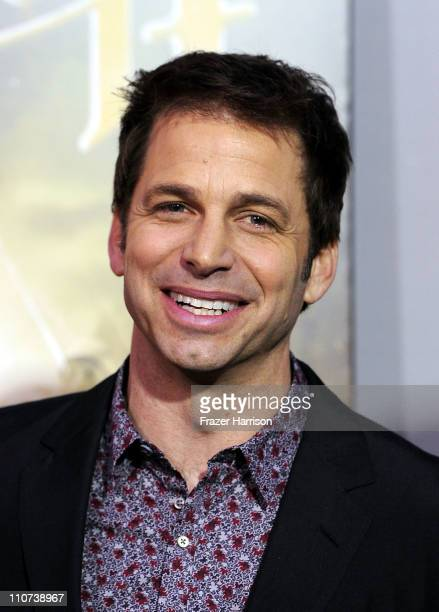 Director Zack Snyder arrives at the premiere of Warner Bros Pictures' 'Sucker Punch' at Grauman's Chinese Theatre on March 23 2011 in Hollywood...