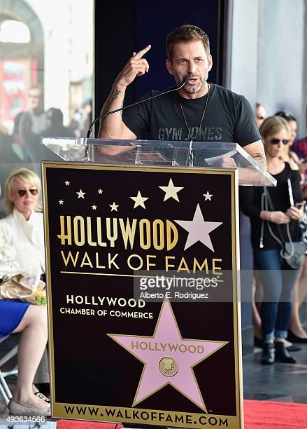Director Zack Snyder attends a ceremony honoring Batman creator Bob Kane with the 2562nd star on The Hollywood Walk of Fame on October 21 2015 in...