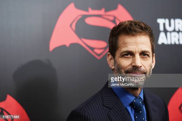 Director Zack Snyder attends the 'Batman V Superman Dawn Of Justice' New York Premiere at Radio City Music Hall on March 20 2016 in New York City