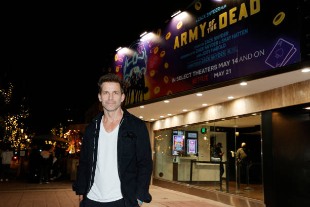"CA: Grand Reopening Of Newly Renovated Landmark Theatre Westwood With Premiere Screening Of Zack Snyder's ""Army Of The Dead"""