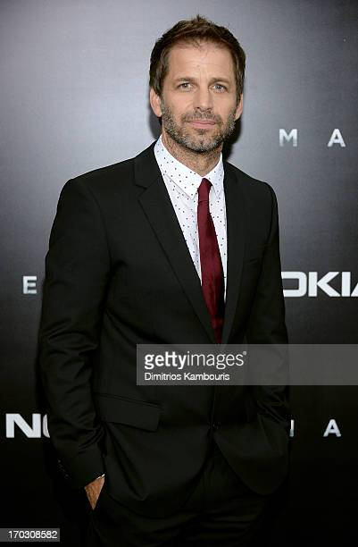 """Director Zack Snyder attends the """"Man Of Steel"""" world premiere at Alice Tully Hall at Lincoln Center on June 10, 2013 in New York City."""