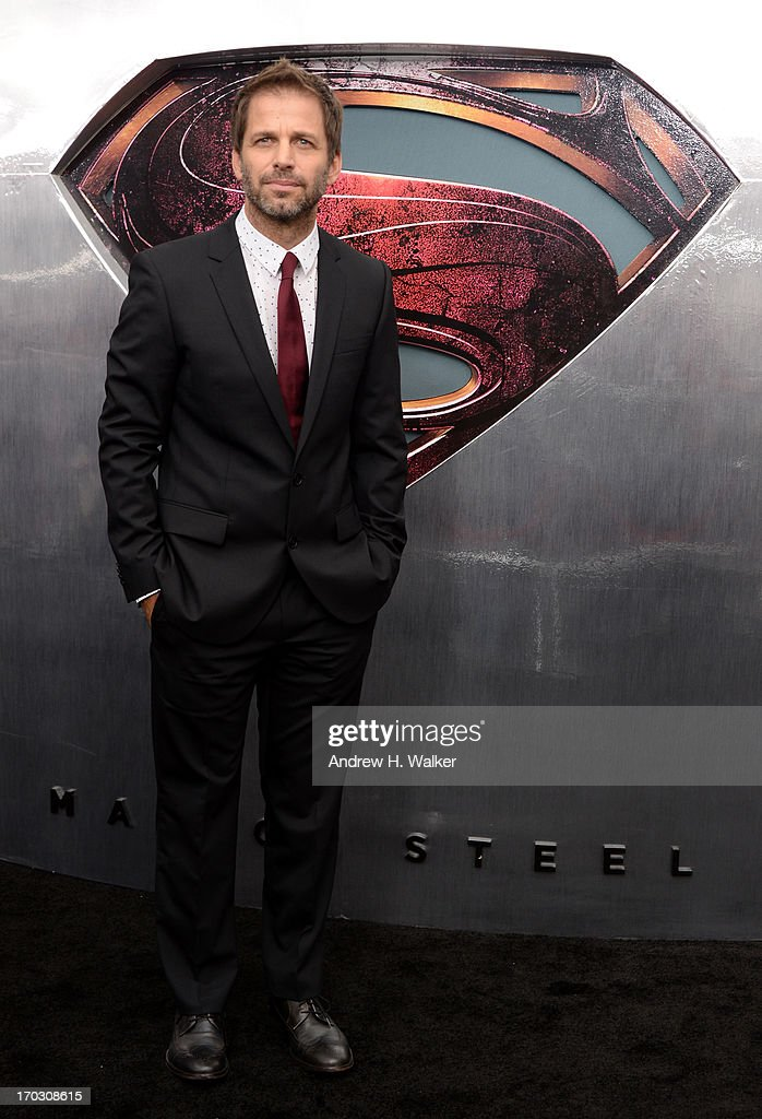Director Zack Snyder attends the 'Man Of Steel' world premiere at Alice Tully Hall at Lincoln Center on June 10, 2013 in New York City.