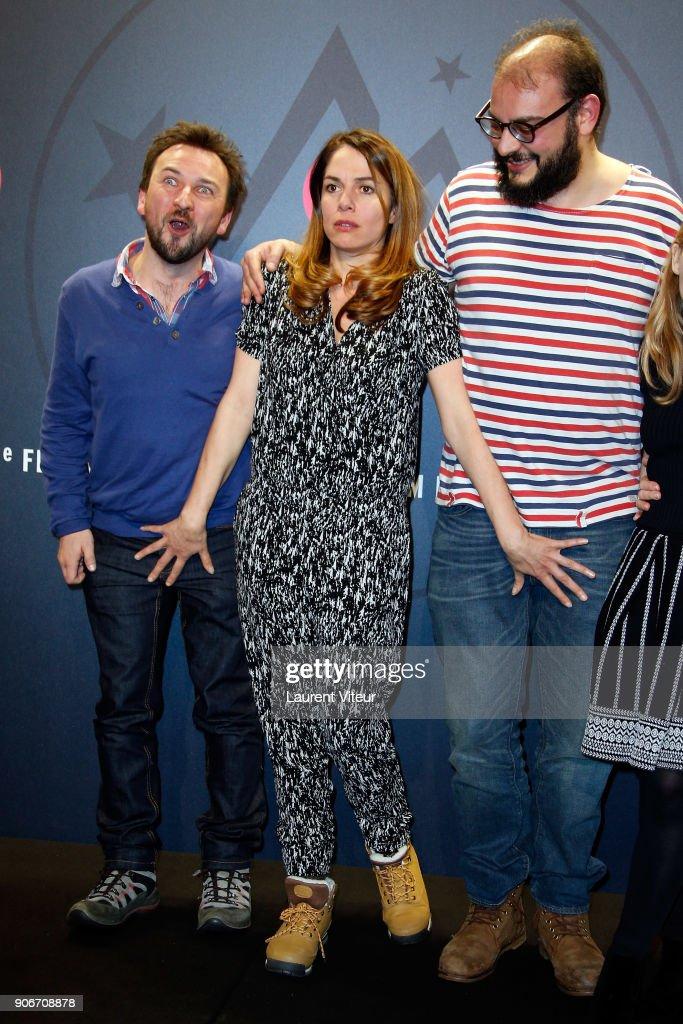 21st L'Alpe D'Huez International Comedy Film : Day Three : News Photo