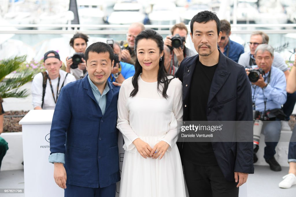 'Ash Is The Purest White (Jiang Hu Er Nv)' Photocall - The 71st Annual Cannes Film Festival : Fotografía de noticias