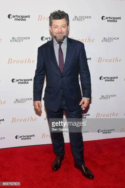 Director/actor Andy Serkis attends the Breathe New York Special Screening at AMC Loews Lincoln Square 13 theater on October 9 2017 in New York City