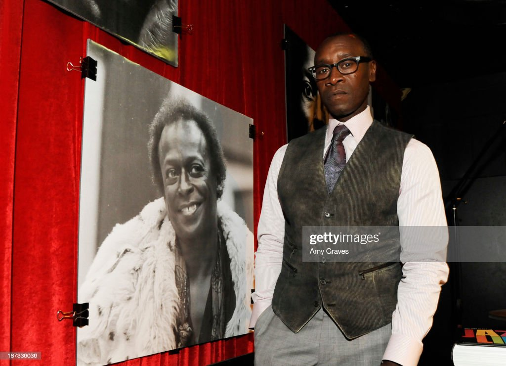 Director/Actor Don Cheadle attends the IM Global/UTA Reception for 'Kill The Trumpet Player' on November 7, 2013 in Santa Monica, California.