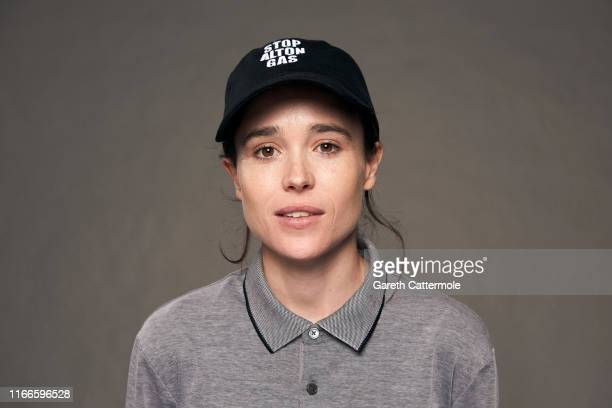 Director/actor Ellen Page from the film 'There's Something in the Water' poses for a portrait during the 2019 Toronto International Film Festival at...