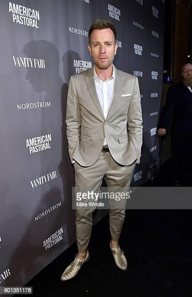 Director/actor Ewan McGregor attends the Vanity Fair Lionsgate and Nordstrom American Pastoral celebration during the Toronto International Film...