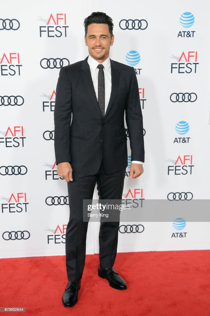 Director/actor James Franco attends AFI FEST 2017 Presented By Audi - Screening Of 'The Disaster Artist' at TCL Chinese Theatre on November 12, 2017 in Hollywood, California.
