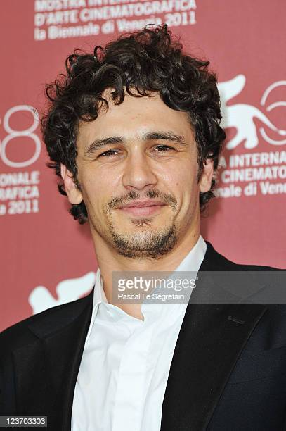 Director/actor James Franco poses at the Sal photocall during the 68th Venice Film Festival at the Palazzo del Cinema on September 4 2011 in Venice...