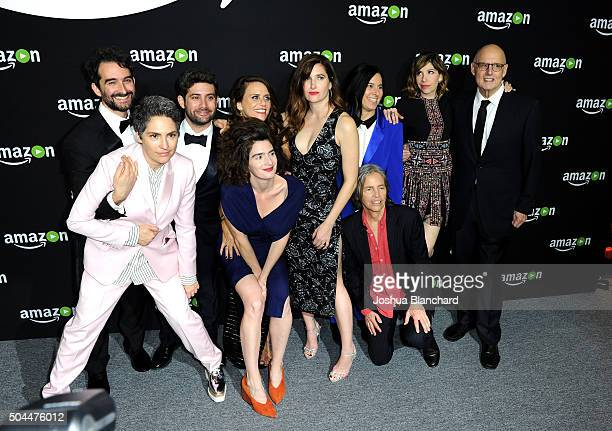 Director/actor Jay Duplass writer Jill Soloway head of Amazon's HalfHour series Joe Lewis actresses Gaby Hoffmann Amy Landecker Kathryn Hahn producer...