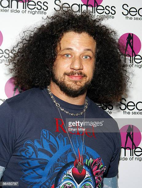 Director/actor Joe Reitman arrives at the grand opening of the Seamless Adult Ultra Lounge early December 18 2005 in Las Vegas Nevada