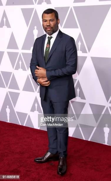 Director/actor Jordan Peele attends the 90th Annual Academy Awards Nominee Luncheon at The Beverly Hilton Hotel on February 5 2018 in Beverly Hills...