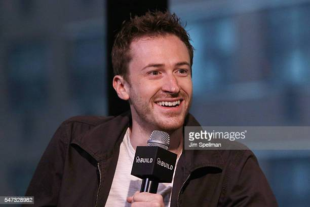 Director/actor Joseph Mazzello attends the AOL Build Speaker Series Joseph Mazzello Undrafted at AOL HQ on July 14 2016 in New York City