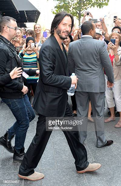 Director/Actor Keanu Reeves attends the Variety Studio presented by Moroccanoil at Holt Renfrew during the 2013 Toronto International Film Festivalon...