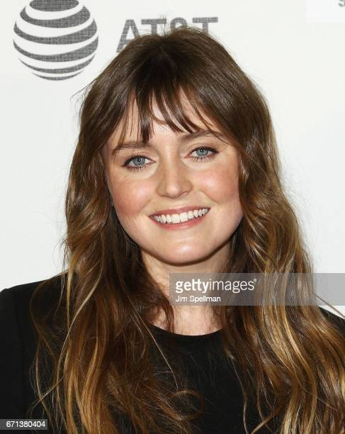Director/actor Lorraine Nicholson attends the Shorts Program Disconnected during the 2017 Tribeca Film Festival at Regal Battery Park Cinemas on...