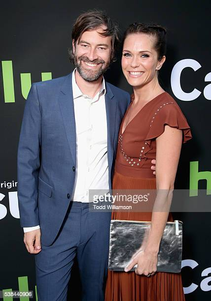 Director/actor Mark Duplass and actress Katie Aselton attend the 'Casual' Season 2 premiere and FYC event at ArcLight Hollywood on June 6 2016 in Los...