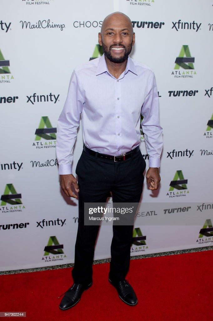 Director/Actor Romany Malco attends the 42nd Annual Atlanta Film Festival 'Prison Logic' screening at Plaza Theater on April 16, 2018 in Atlanta, Georgia.