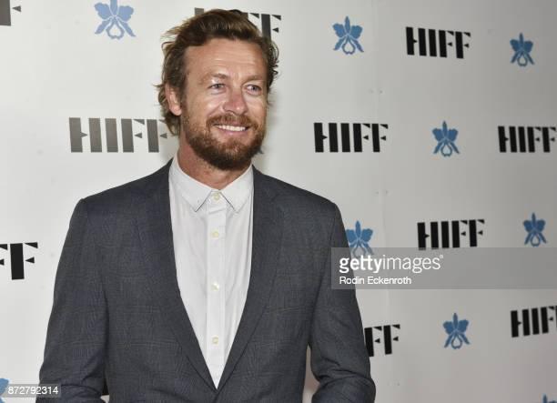 Director/actor Simon Baker attends the 37th Annual Hawaii International Film Festival Gala presented by Halekulani on November 10 2017 in Honolulu...
