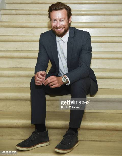 Director/actor Simon Baker poses for portrait at the 37th Annual Hawaii International Film Festival presented by Halekulani on November 10 2017 in...