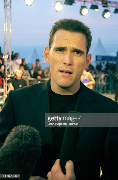 Director/actor/cowriter Matt Dillon during Deauville 2002 'City of Ghosts' Premiere at CID Deauville in Deauville France