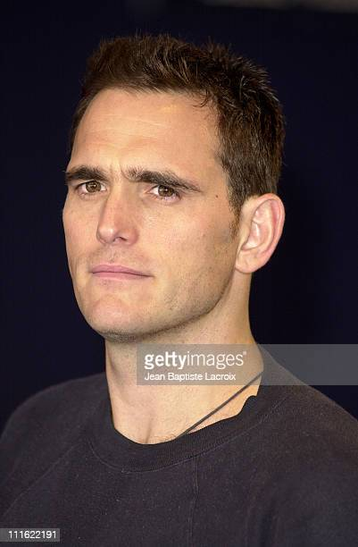 Director/actor/cowriter Matt Dillon during Deauville 2002 'City of Ghosts' Photocall at CID Deauville in Deauville France
