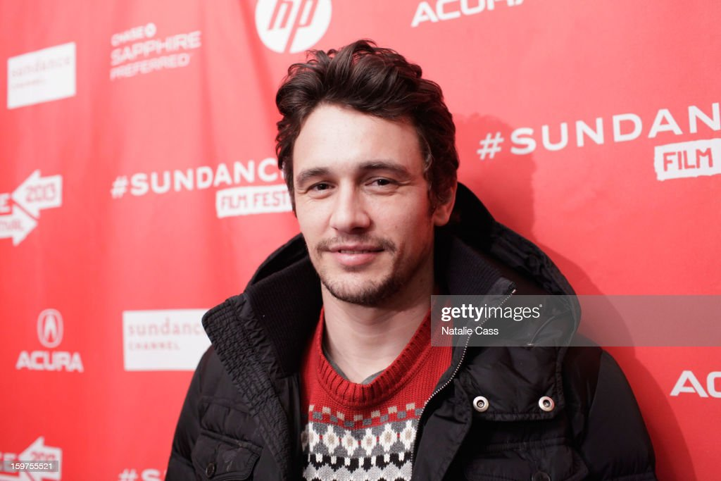 Director/Actor/Writer James Franco attends 'Interior. Leather Bar' premiere during the 2013 Sundance Film Festival at Prospector Square on January 19, 2013 in Park City, Utah.