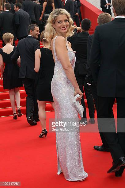 Director/actress Angela Ismailos attend the 'Outside Of The Law' Premiere at the Palais des Festivals during the 63rd Annual Cannes Film Festival on...