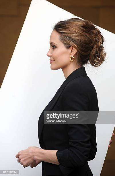 Director/actress Angelina Jolie arrives at The American Cinematheque's 69th Annual Golden Globe Awards ForeignLanguage Nominee Event at the Egyptian...