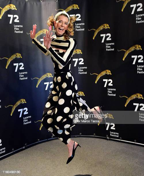 Director/Actress Dawn Luebbe attends the 'Greener Grass' during the 72nd Locarno Film Festival on August 9 2019 in Locarno Switzerland
