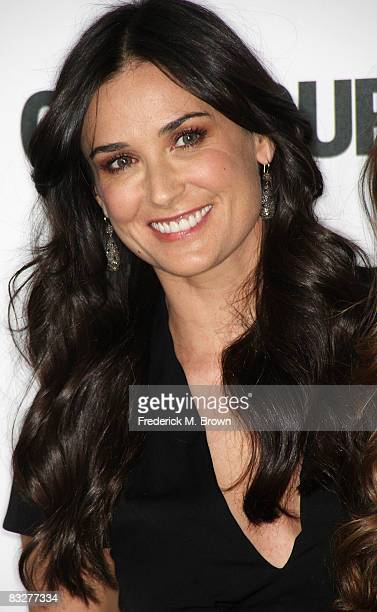 Director/actress Demi Moore attends the Glamour Reel Moments at the Directors Guild of America on October 14 2008 in Los Angeles California