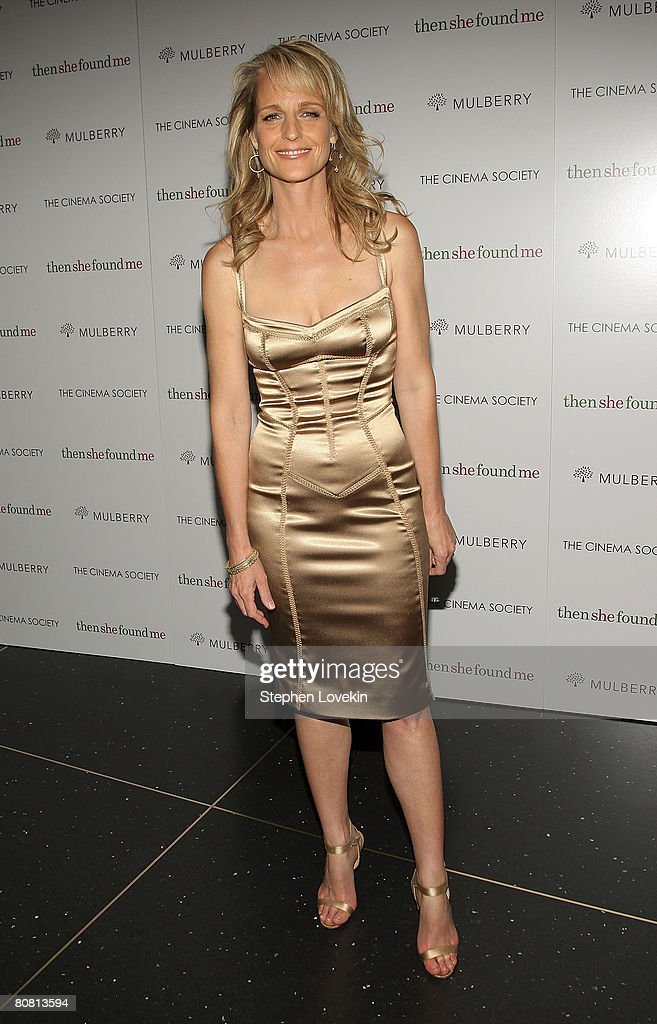 "The Cinema Society & Mulberry Host A Screening Of ""Then She Found Me"" : News Photo"