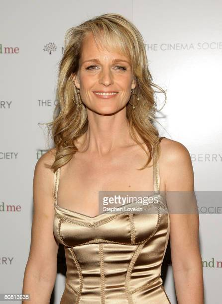 Director/actress Helen Hunt attends a screening of Then She Found Me hosted by The Cinema Society and Mulberry at AMC Lincoln Square Theatre April 21...