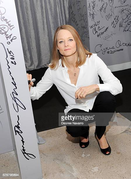 Director/actress Jodie Foster attends AOL Build Speaker Series to discuss 'Money Monster' on May 09 2016 in New York New York