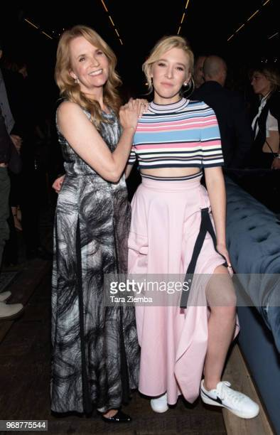 Director/actress Lea Thompson and writer/actress Madelyn Deutch attend the afterparty for the premiere of MarVista Entertainment's 'The Year Of...