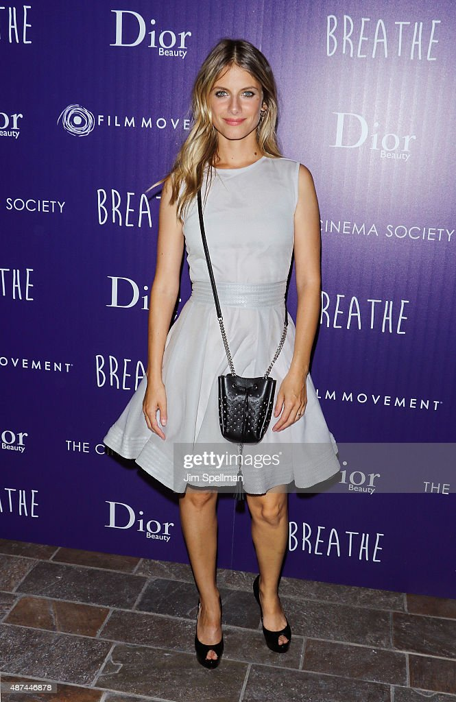 "The Cinema Society And Dior Beauty Host A Screening Of Film Movement's ""Breathe"" - Arrivals"