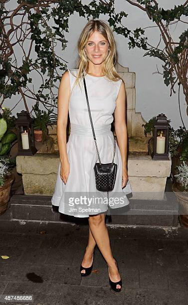 Director/actress Melanie Laurent attends the after party for the screening of Film Movement's Breathe hosted by The Cinema Society and Dior Beauty at...