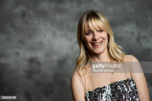 Director/actress Mélanie Laurent poses during the opening night of the 2018 COLCOA French Film Festival April 23 2018 at the Directors Guild of...