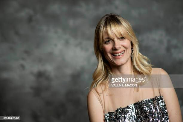 TOPSHOT Director/actress Mélanie Laurent poses during the opening night of the 2018 COLCOA French Film Festival April 23 2018 at the Directors Guild...