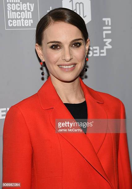 Director/actress Natalie Portman attends the 2016 New York Jewish Film Festival closing night screening of A Tale Of Love And Darkness at Walter...