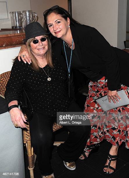 Director/actress Penny Marshall and daughter/actress Tracy Reiner at The Hollywood Show held at The Westin Hotel LAX on January 24 2015 in Los...