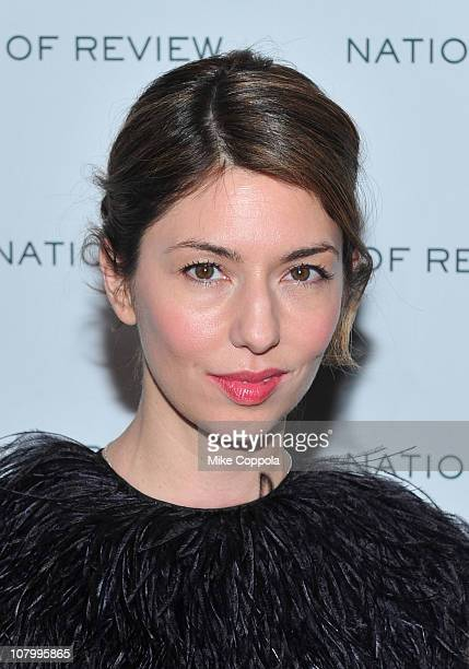 Director/actress Sofia Coppola attends the 2011 National Board of Review of Motion Pictures Gala at Cipriani 42nd Street on January 11 2011 in New...