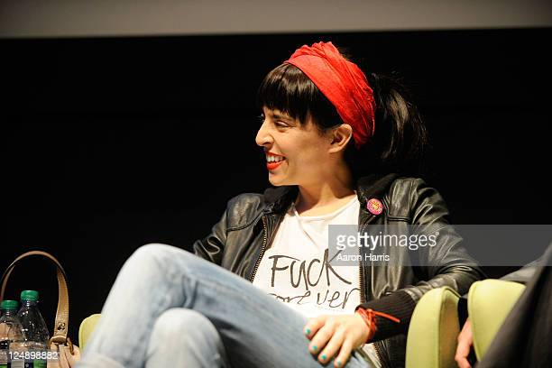 Director/actress Tamae Garateguy attends City To City Panel Buenos Aires A Conversation at TIFF Bell Lightbox during the 2011 Toronto International...